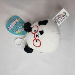 Dustin the dalmatian squishmallow keyring 3.5